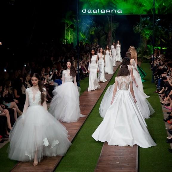 Sarkadi Nikolett A VOUS-lányok 5 kedvenc menyasszonyi ruhája a Daalarna fashion show-ról