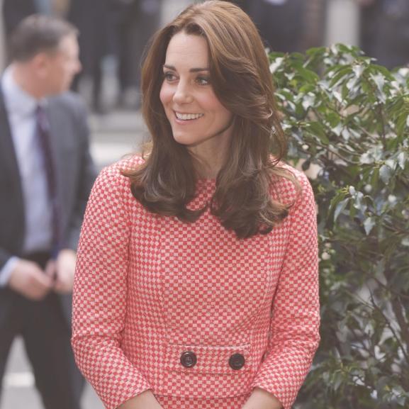 Katalin hercegné bebizonyította: mintákat hordani jó!