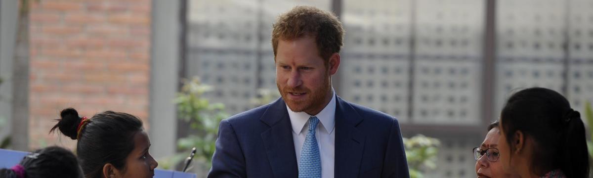 Újra beleszerettünk Harry hercegbe: gyönyörűen beszélt a nőkről