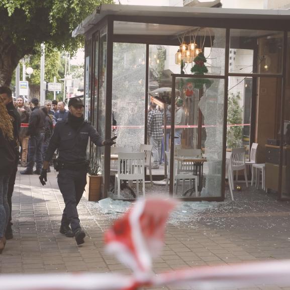 Lövöldözés tört ki újév napján Tel-Avivban