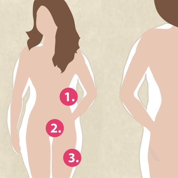 Motivációs grafika – Így változhat meg a testetek a rendszeres futástól