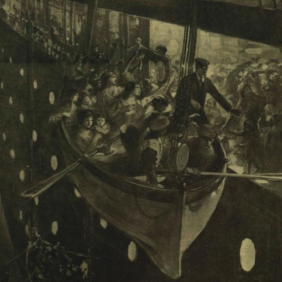 """""""Először az asszonyokat és a gyermekeket!"""" – Ritkán látott képek a 104 éve elsüllyedt Titanic belsejéről"""