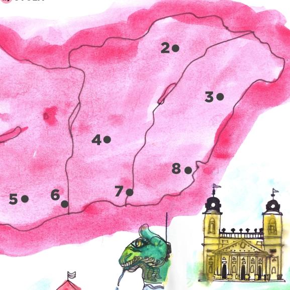10 másodperces kihívás: töltsétek ki a Magyarország-vaktérképet!