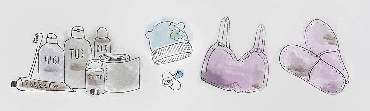 Kórházi csomag szüléshez – Minden, ami a babának és a mamának kell az első napokban