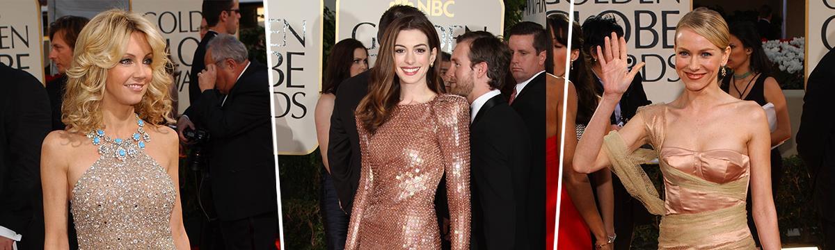 Aranyláz a vörös szőnyegen – A Golden Globe történetének legszebb aranyruhái