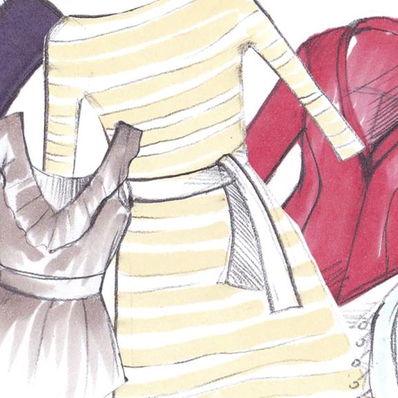 """""""Tényleg jól áll rajtam ez a ruha?"""" – ezek a rajzok segítenek a vásárláskor"""