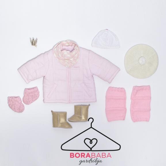 Könnyen variálható szett babáknak téli autózáshoz – Bora baba gardróbja