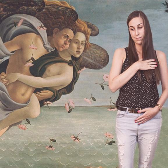 Híres festmények újragondolva – Már megint alkottak a VOUS-lányok!