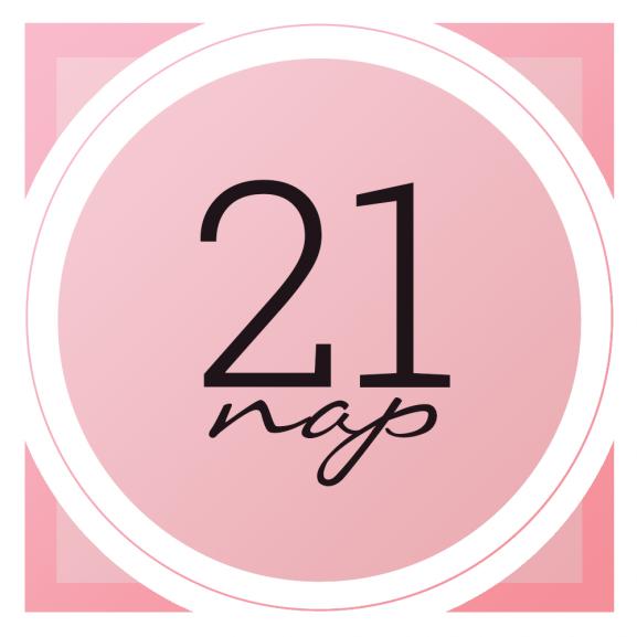 21 nap logó