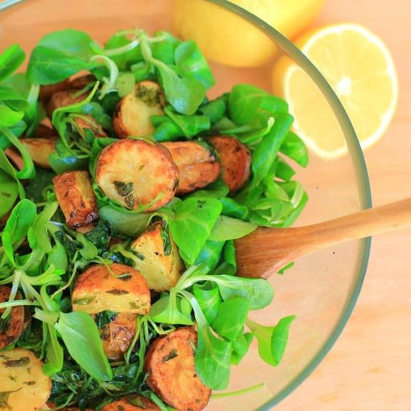 Egészséges krumplis saláta, amit imádni fogtok – Még idén! kampány