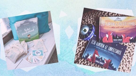 3 könyv, aminek minden 21. századi gyerek szobájában ott van a helye