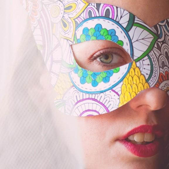 3 letölthető felnőttszínező, ami farsangi maszk is ez egyben – tőlünk, nektek!