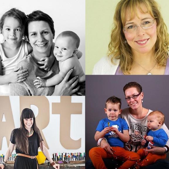 5 gyerek mellett vállalkozó nő