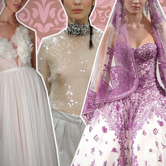 A legújabb menyasszonyi ruhák, amiket imádunk, és amiket sosem vennénk fel Sarkadi Nikolett