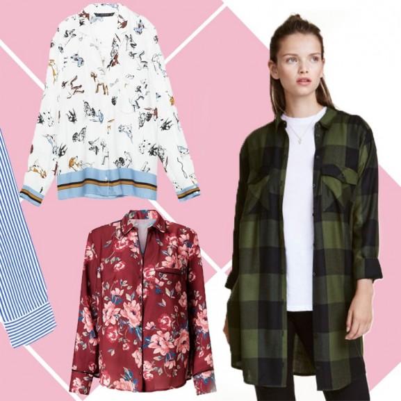 A mintás ing az ősz divatja, de nem a kockás vagy a csíkos darabok!
