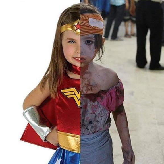 A világok közti különbség - megrázó képek