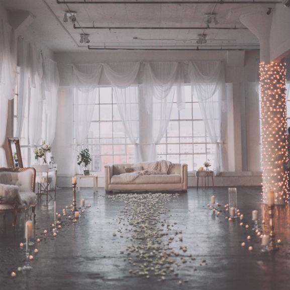 ablak lakás loft