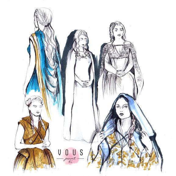Amikor a színek és a formák jelentéssel bírnak – avagy így öltözködnek a Trónok harca női karakterei Cséfalvay Fanny