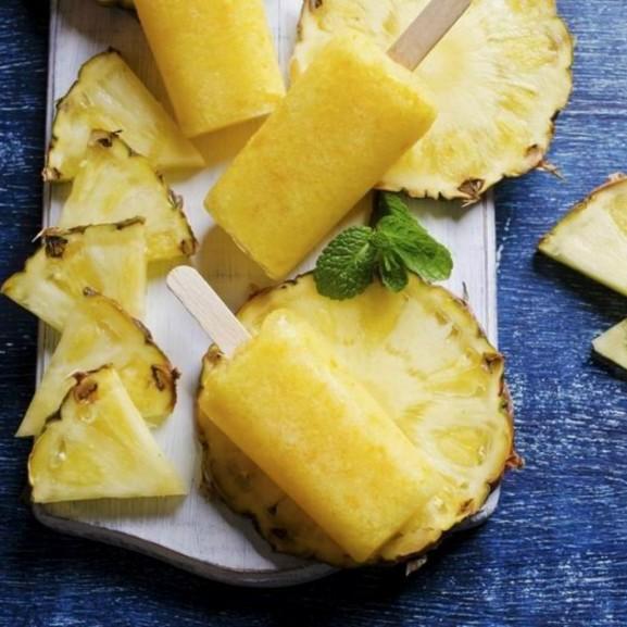 ananász fagyi fagylalt egészséges