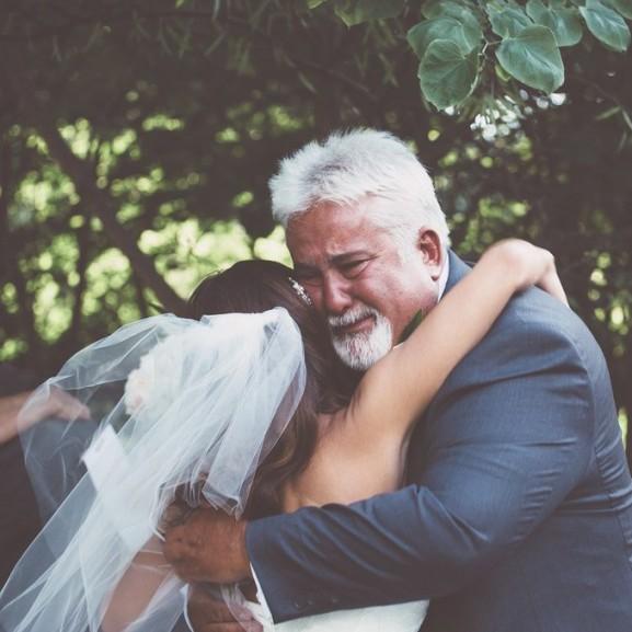 apa-lánya esküvő
