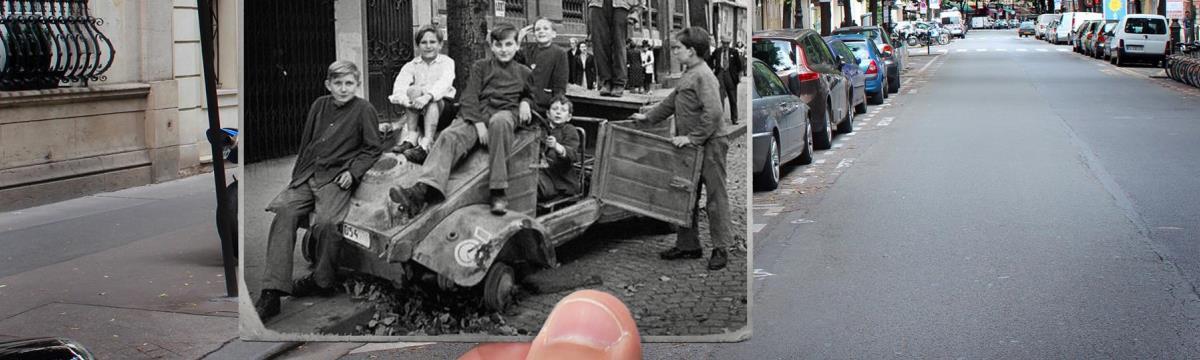 Gyönyörű képek bizonyítják, mennyit változott Párizs száz év alatt