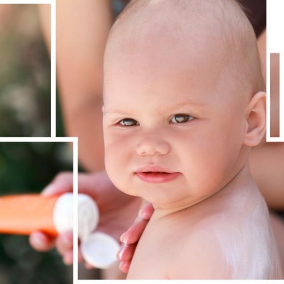 babák és naptejek - hogyan válasszunk, mire ügyeljünk?