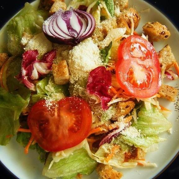 bagett saláta