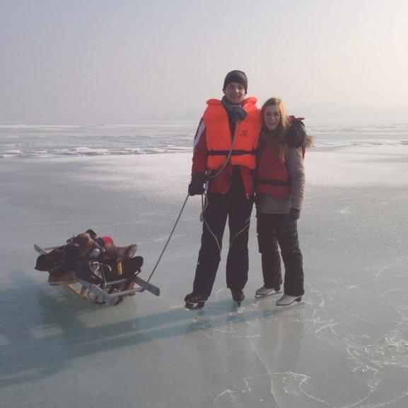 Balaton jégkorcsolya