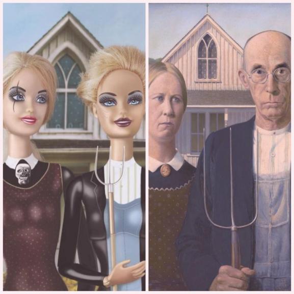 Pózok, amikben még sose láttátok Barbie-t