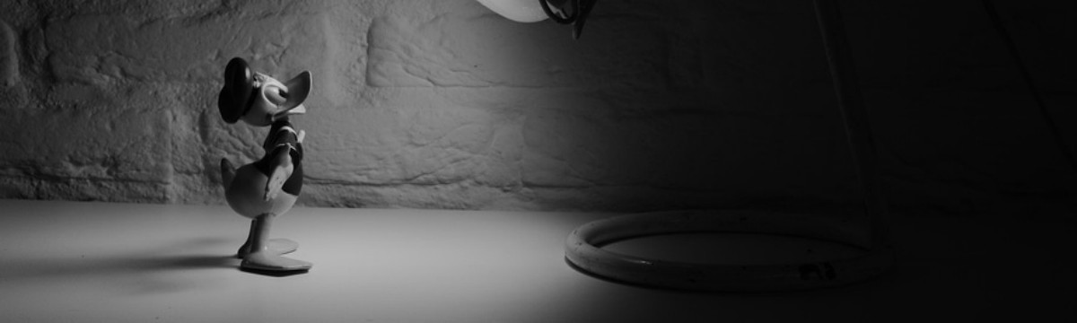 black-and-white-cartoon-donald-duck-spotlight-large