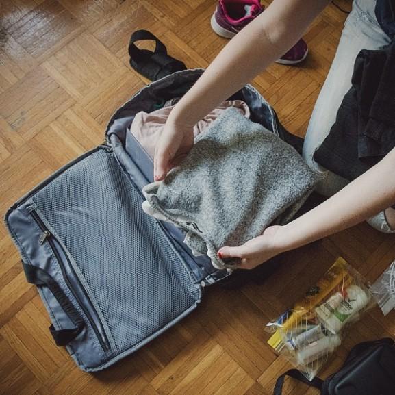 Bőröndpakolás okosan Mojzes Nóra