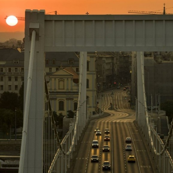 Budapest hajnal