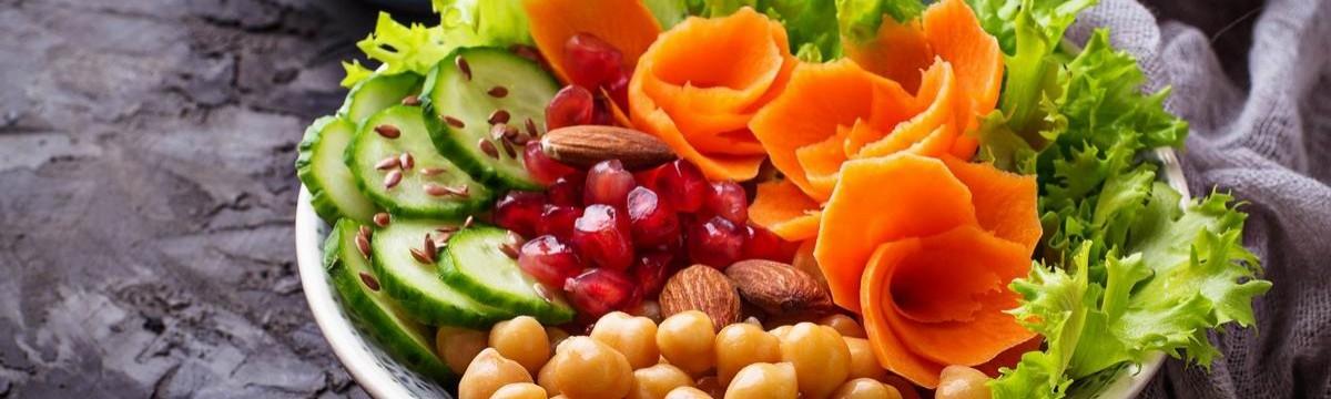 Buddha tál zöldség vegán
