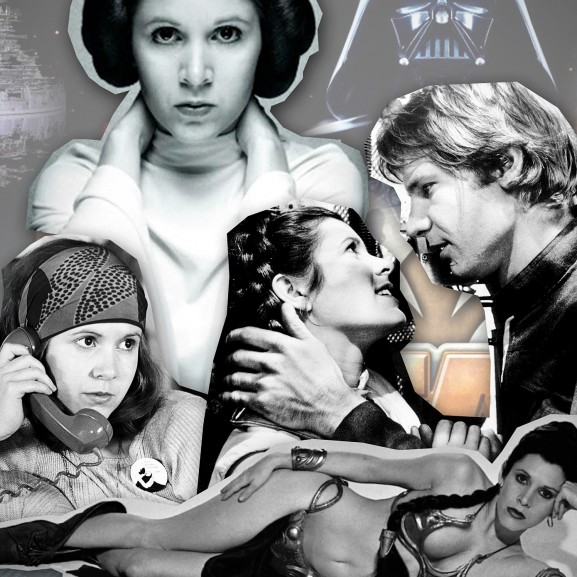 Carrie Fisher Mengyán Eszter