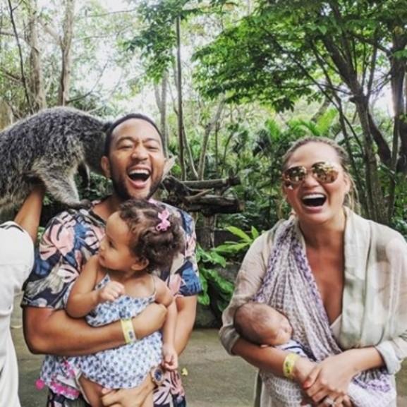 Chrissy Teigen John Legend Bali nyaralás