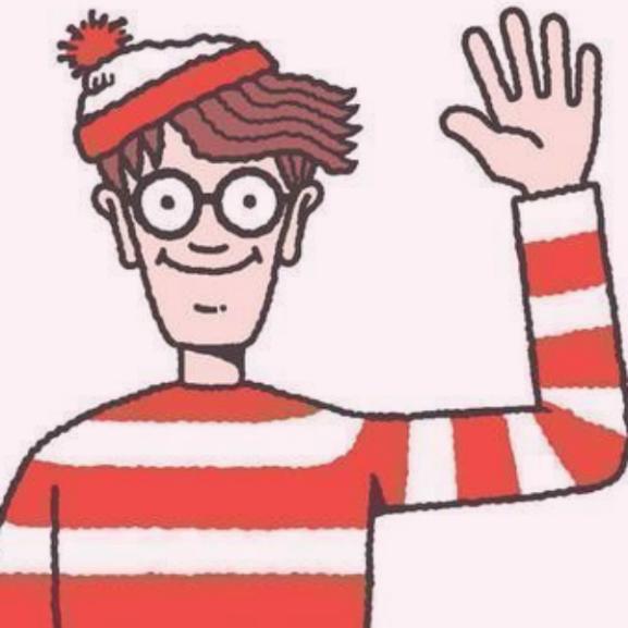 360 fokotok van megtalálni Waldót!