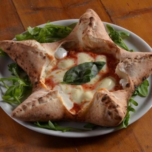 Cookta Nápoly pizza csillag