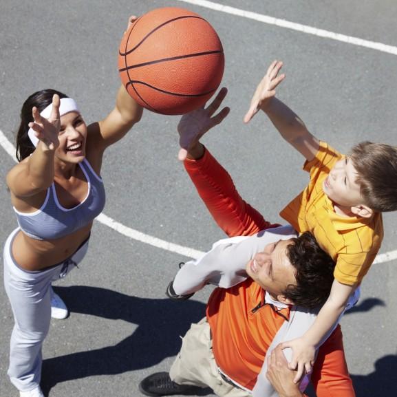 család sport