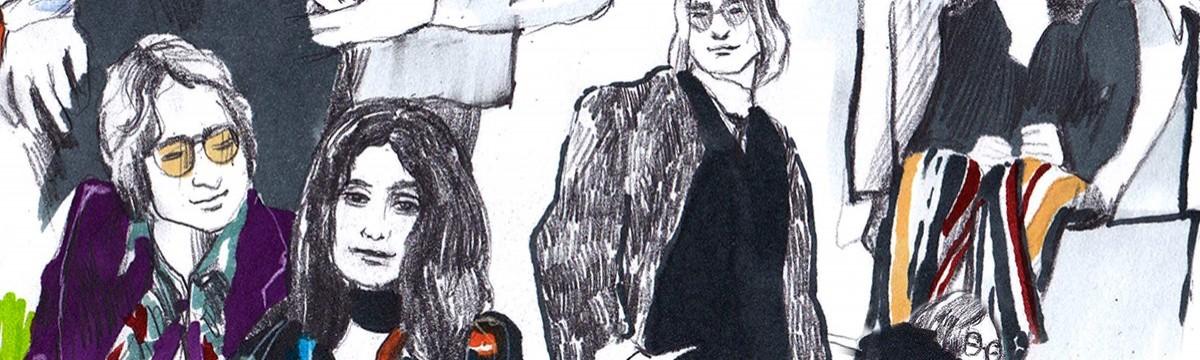 Cséfalvay Fanny A még változatosabb megjelenés érdekében válasszatok saját divatikonokat - Yoko Ono és John Lennon segít ebben!