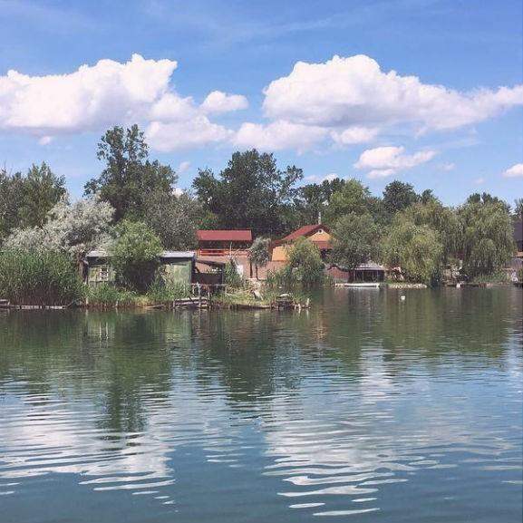 Csepel, Kavicsos tó