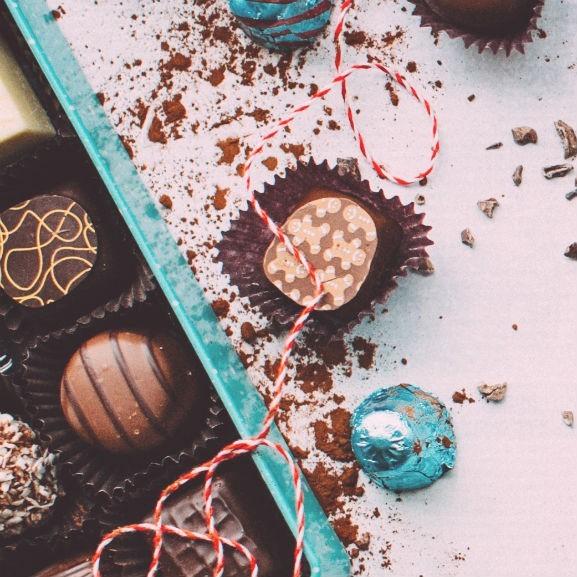 csokoládé bonbon
