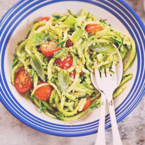 cukkinispagetti a szuperfinom es dietas teszta