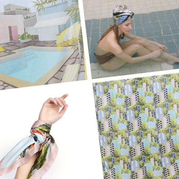 designer selyemkendők a VYF csapatától Szőcs Lilla