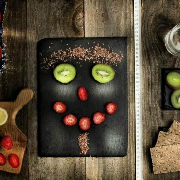 diéta gyümölcs tálalás