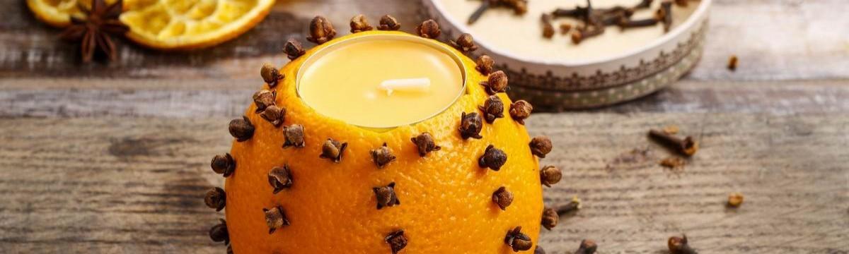 DIY narancsos mécses, ami meghozza az ünnepi hangulatot