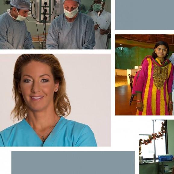 Dr. Lévay Bernadett égési sérült nők