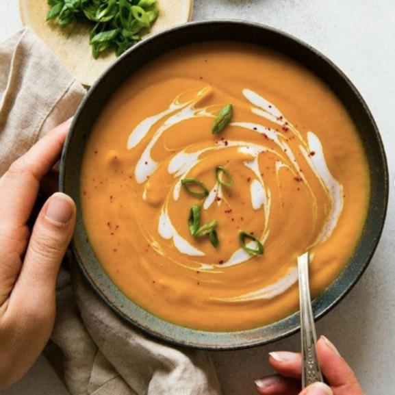 Édesburgonyából levest? Még szép!
