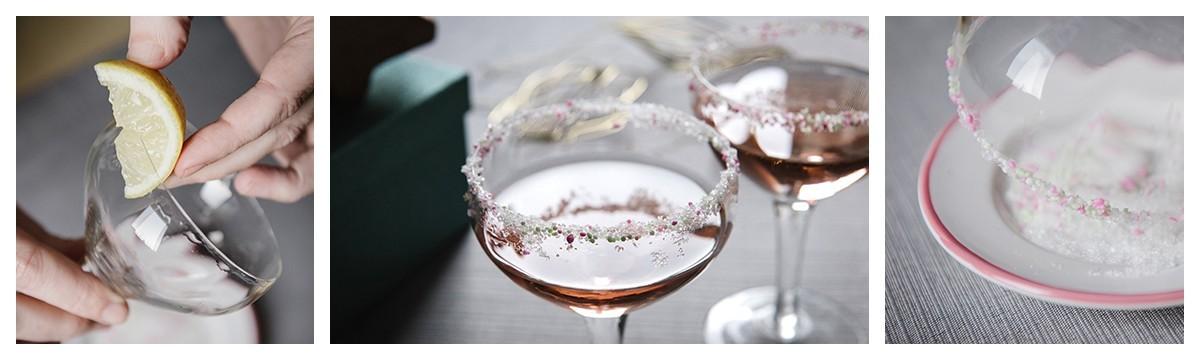 Édesen-fagyos szilveszteri pohárdekor - egy szempillantás alatt!