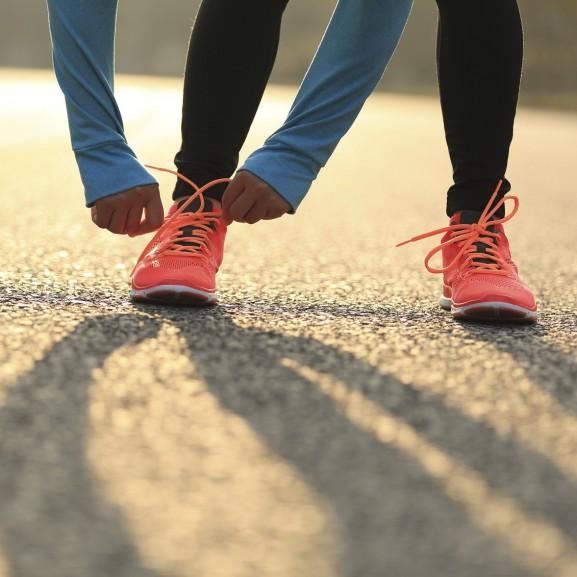 edzés futás futócipő cipő készülődés