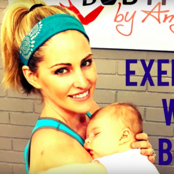 edzés gyerekkel videó kismama